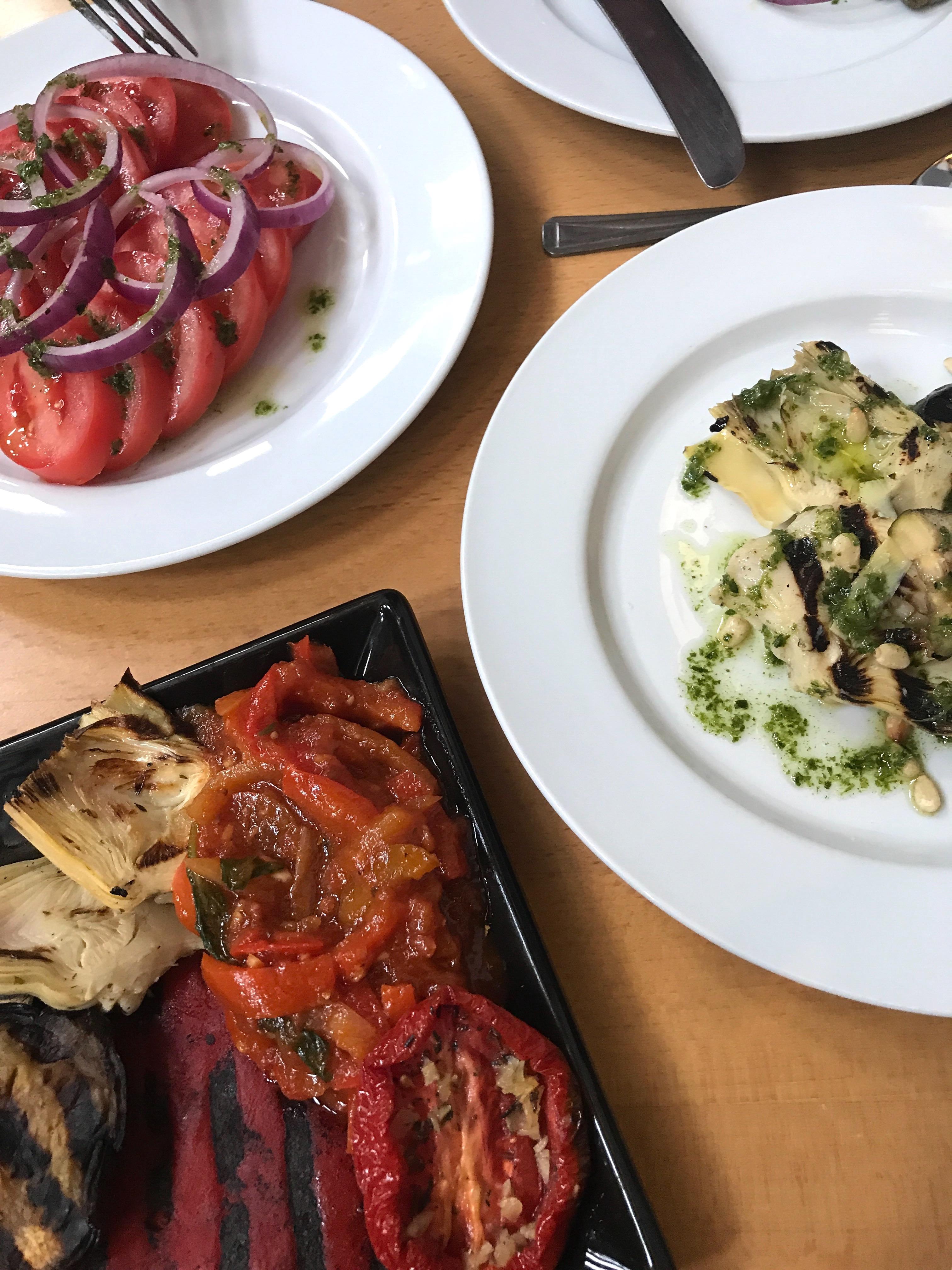 Vegan Options at Nuovo