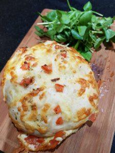 Cheesy Bonfire Bread