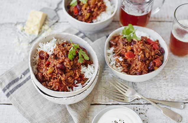 Vegan Chilli Con Carne