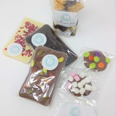 Tuck Box Chocolate Parcel