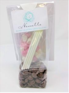 Chocolate and Marshmallow lollipop kit