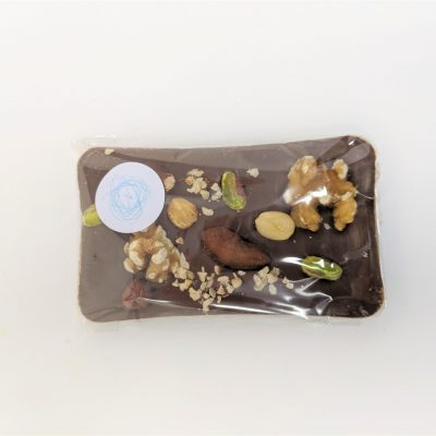Mixed nuts Milk chocolate bar