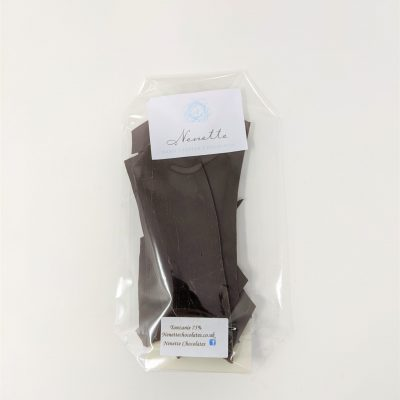 Tanzanie single origin chocolate shards